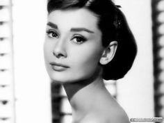 Classic. Love Audrey's brows
