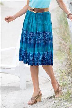 Tie-Dye-Tiered-Summer-Skirt