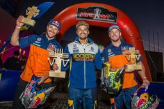 Quintanilla leads the 2016 FIM World Cross-Country Rally Championship. KTM's Sunderland is second by just three points and Price, who had to withdraw from the Sealine Rally in Qatar with an injury, is third. The final round is the Oillibya Rally in Morocco at the beginning of October.