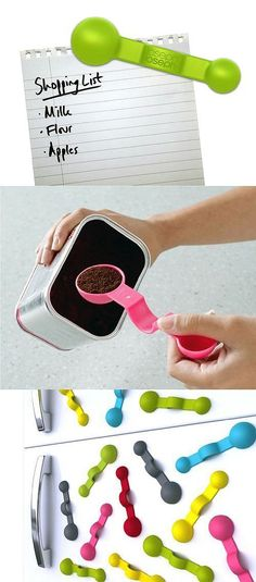 If you can just have a magnetic measuring spoon that you can…