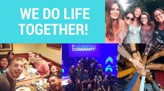 At Coastal -- we believe that doing life together is what will grow us as individuals and as a community! In fact, one of our core values is We Do Life Together!   To get to know us more, be sure to check out our website : http://www.coastalcommunity.tv