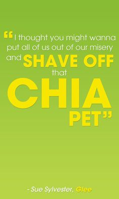 """Shave Off That Chia Pet"" -- Best Sue Sylvester Insults"