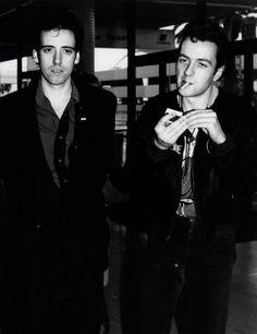 The Clash - Joe Strummer, Mick Jones.