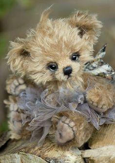 Cute Little Stuffed Bear #teddy, #teddies, #bears, #toys, https://facebook.com/apps/application.php?id=106186096099420