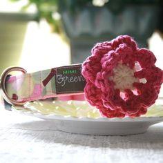 Mimi Green Hand Crochet 'Lollipop' Flower  by shopmimigreen, $12.95