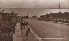 View from Sea Road, Boscombe, 1921