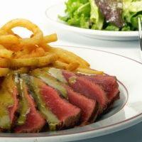 L'entrecote Restaurant. The best steak-frites I have ever tasted!