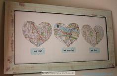 Love-Map - Stadtplan der Liebe