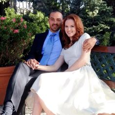 Jackson and April's intimate Lake Tahoe wedding Jesse Williams, Jackson And April, Jackson Avery, Greys Anatomy April, Greys Anatomy Cast, Sarah Drew, Alex And Meredith, Zack Y Cody, Grey's Anatomy Tv Show
