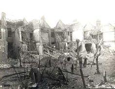 World War II Damage, Guernsey Grove, Herne Hill, 1944
