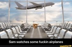 Sam watches some fuckin airplanes - Sam watches some fuckin airplanes - iFunny :) Funny Supernatural Memes, Jared Padalecki, Popular Memes, Airplanes, Hilarious, Watches, Celebrities, Wristwatches, Planes