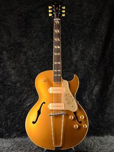 Gibson Memphis Historic Series 1952 ES-295 VOS Bullion Gold