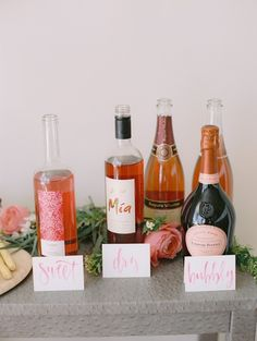 How To Host A Rosé + Flower Arranging Party | theglitterguide.com