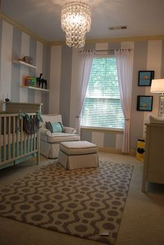 I love this baby room, we safely co-bed so a nursery is pretty in the house but hardly ever used! Lol!