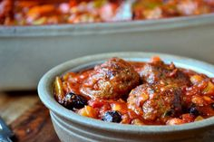 Moroccan Meatballs - A spicy and sweet dish reminiscent of North African cuisine.