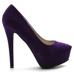 Ollio Womens Platforms Faux-Suede Classic Pumps High Heels Multi Colored Shoes (6.5, Purple) - [ Please Visit http://handbags.apparelique.com/shoes/ollio-womens-platforms-faux-suede-classic-pumps-high-heels-multi-colored-shoes-6-5-purple/ For Price And Shipping Information] #Shoes [ Price:$23.99 - Sale:	$19.99  You Save: 	$4.00 (16%) ]
