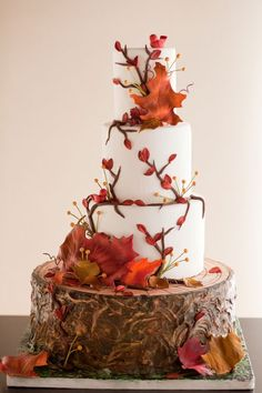 How To DIY Fall Wedding Cakes Recommendation - http://weddingcakeideas.xyz/unique/how-to-diy-fall-wedding-cakes-recommendation/ autumn wedding cake fall themed, fall wedding cakes designs, fall wedding cakes on pinterest