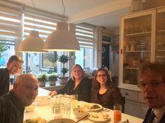 Bij Naomi Vervaart en haar familie, 19 maart 2015