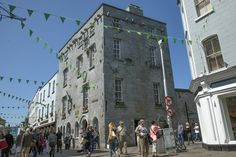 Lynch's Castle, Galway after recent refurbishment. The castle now houses a branch of Allied Irish Bank