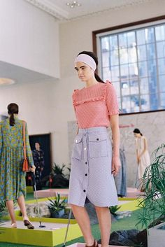 Vanessa Jackman: London Fashion Week SS 2016....Orla Kiely SS 2016 Presentation
