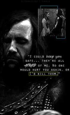 The Hound would have kept her safe, maybe someday he'll get the chance! That is, if my gravedigger theory is correct :/