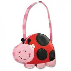 Show off your style with this Ladybug Purse from Stephen Joseph! These fun shaped purses are sure to bring a smile to any little girl's face! Made of our popular Go Go Bag material! With it's perfect size & shape, this is sure to be a hit! Zip Wallet, Zip Around Wallet, Go Bags, Vera Bradley Tote, Leather Handle, Baby Shop, Coin Purse, Purses, Joseph