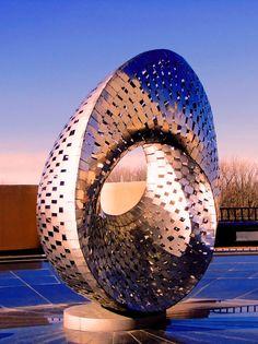 Mobius Strip Sculpture