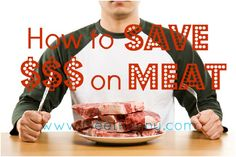 Great tips for saving money on meat