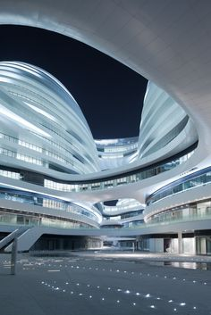 The Style Examiner: Zaha Hadid's Galaxy Soho Building is Unveiled in Beijing