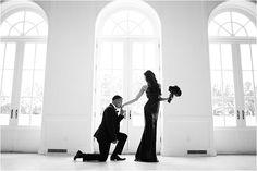 Black-and-White-Engagement-Photo