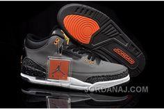 new style b8d38 7eb3a Air Jordan 3 Retro 2013 Grey Black Orange Mens Shoes, cheap Jordan If you  want to look Air Jordan 3 Retro 2013 Grey Black Orange Mens Shoes, ...