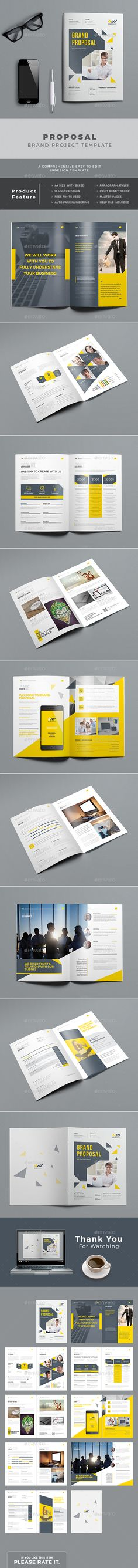 Proposal Template Business Project Proposal Template V280