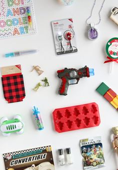 Affordable stocking stuffer ideas for the whole family, so many great ideas on this list!