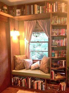 Home Library Design, Home Design, Interior Design, Design Ideas, Library Ideas, Dream Library, Cozy Home Library, Room Interior, Design Design