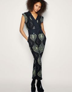 African Prints in Fashion: Right now I love: Jumpsuits & Rompers