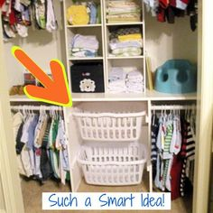 37 Baby Closet Organization Ideas Nursery We Love
