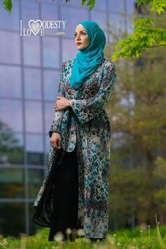 Ilovemodesty Islamic Fashion, Muslim Fashion, Modest Fashion, Modest Dresses, Modest Outfits, Street Hijab, Hijab Collection, Fashion Cover, Islamic Clothing