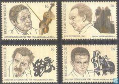 Postzegels - België [BEL] - Muziek en literatuur