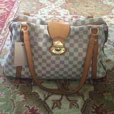Louis Vuitton stresa GM bag azure Stunning bag.... See other listings for more pix.  it's a big bag... Shows normal wear but no major issues. Very clean inside . Louis Vuitton Bags