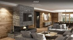 First Kitzbühel - The Real Estate Company Villa, Real Estate Companies, Case, Home Decor, Farmhouse Windows, Bed Room, Living Room, Penthouse Apartment, Large Backyard