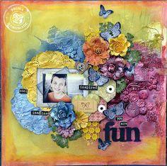 Janine Koczwara, fantastic Paper Flourish teacher