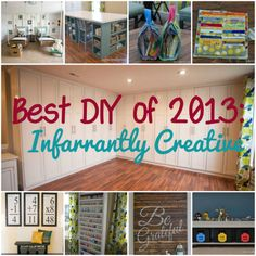 Best DIY Projects of 2013: Infarrantly Creative