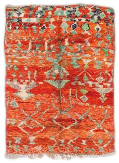 Moroccan Vintage Rugs Number 15308, Vintage Rugs | Woven Accents
