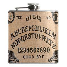 Ouija Board Flask
