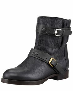 Wednesday, July 24th: Double-Buckle Moto Boot, Black, 212 872 8940 I have one!
