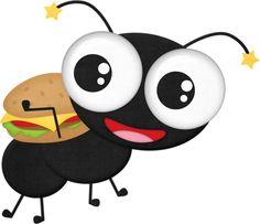 black ant 3 png bees pinterest black ants ant and clip art rh pinterest com clip art antlers clip art ants marching