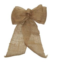 Burlap Bows for Wedding DecorationsCountry by shannonkristina, $11.00