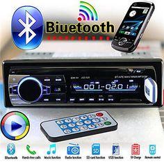 "4.0/"" Autorradio 1DIN Coche Radio Reproductor MP3 Estéreo Bluetooth 2*USB AUX FM"