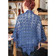 Cousteau Shawl pattern by Doris Chan $3.99