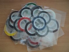 Set 30 culori benzi pentru unghii 1mm Pret: 20 lei/set www.fancynailart.blogspot.ro